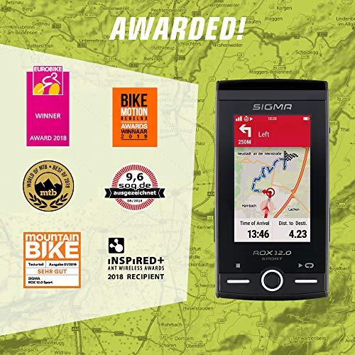 SIGMA SPORT ROX 12.0, GPS Fahrradcomputer mit Kartennavigation und Farbdisplay - 9