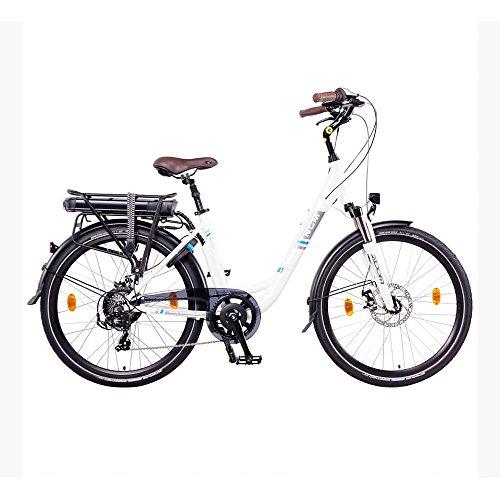 NCM Munich 26″ E-Bike City Rad, 250W, 36V 13Ah 468Wh weiß - 2