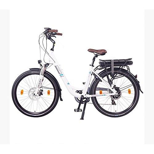 NCM Munich 26″ E-Bike City Rad, 250W, 36V 13Ah 468Wh weiß - 4