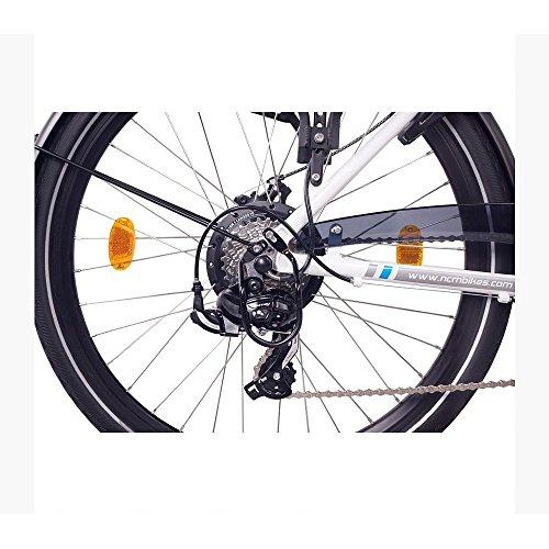 NCM Munich 26″ E-Bike City Rad, 250W, 36V 13Ah 468Wh weiß - 5