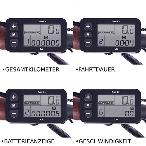 NCM Munich 26″ E-Bike City Rad, 250W, 36V 13Ah 468Wh weiß - 7
