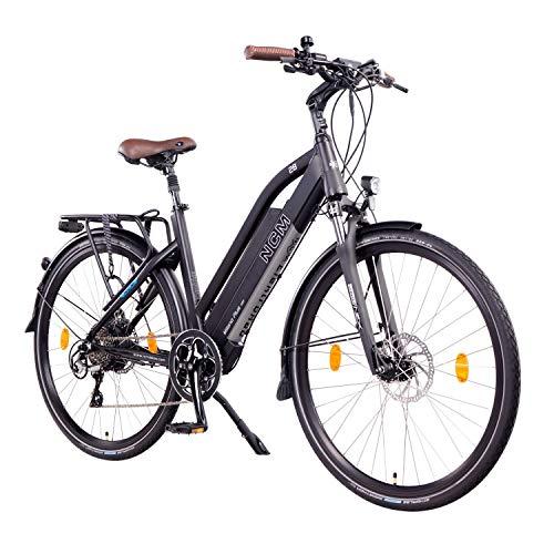 "NCM Milano Plus Urban E-Trekking E-Bike 48V 16Ah 768Wh Schwarz 26"""
