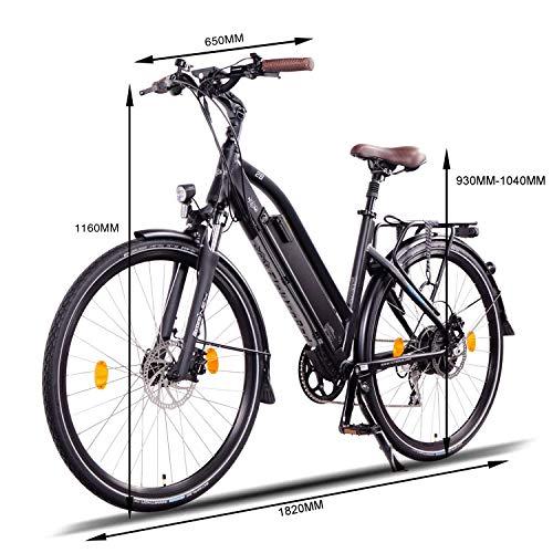 NCM Milano Plus Urban E-Trekking E-Bike 48V 16Ah 768Wh Schwarz 26