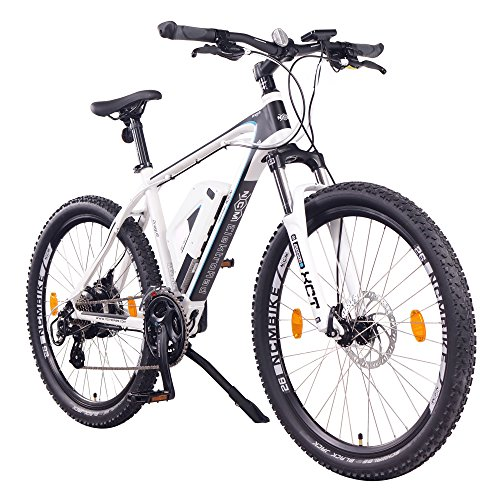 "NCM Prague, E-Bike Mountainbike 36V 13Ah 468Wh, 26"", weiß"