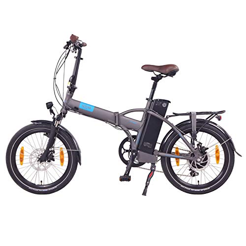 "NCM London 20"" E-Bike, E-Faltrad, 36V 15Ah 540Wh Anthrazit - 3"