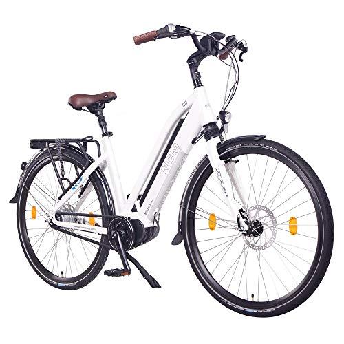 """NCM Milano Max N8R E-Bike Trekking Rad, 250W, 36V 16Ah 576Wh Akku, 28"""" Zoll (NCM Milano-MAX)"""