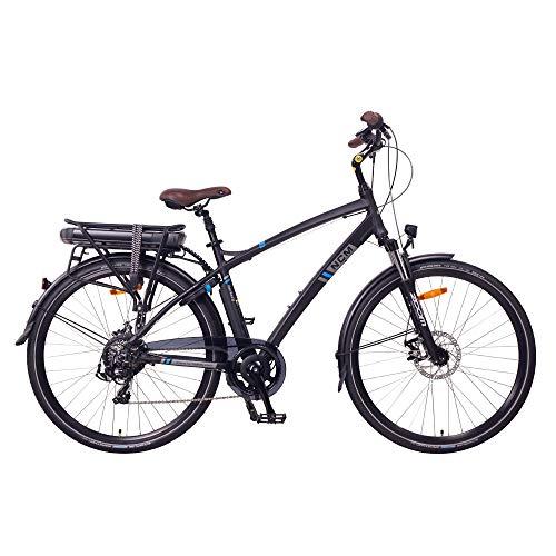 "NCM Hamburg E-Bike City Rad, 250W, 36V 13Ah 468Wh Akku, 28"" Zoll (28″ Schwarz) - 2"