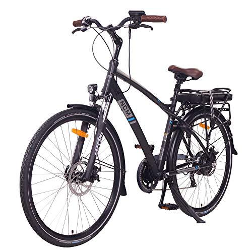 "NCM Hamburg E-Bike City Rad, 250W, 36V 13Ah 468Wh Akku, 28"" Zoll (28″ Schwarz) - 3"