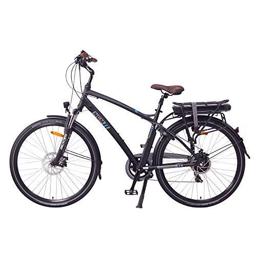 "NCM Hamburg E-Bike City Rad, 250W, 36V 13Ah 468Wh Akku, 28"" Zoll (28″ Schwarz) - 4"