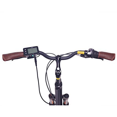 "NCM Hamburg E-Bike City Rad, 250W, 36V 13Ah 468Wh Akku, 28"" Zoll (28″ Schwarz) - 6"