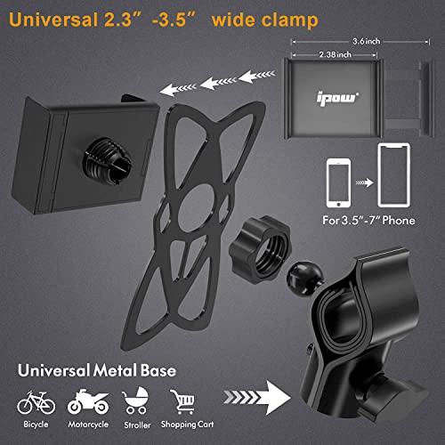 Ipow® Universal Fahrrad Handyhalterung - 5