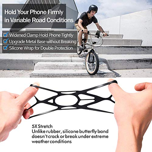 Ipow® Universal Fahrrad Handyhalterung - 9