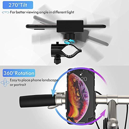 Ipow® Universal Fahrrad Handyhalterung - 6