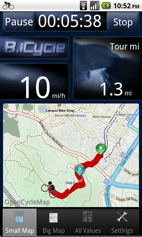 B.iCycle – GPS Fahrradcomputer - 3
