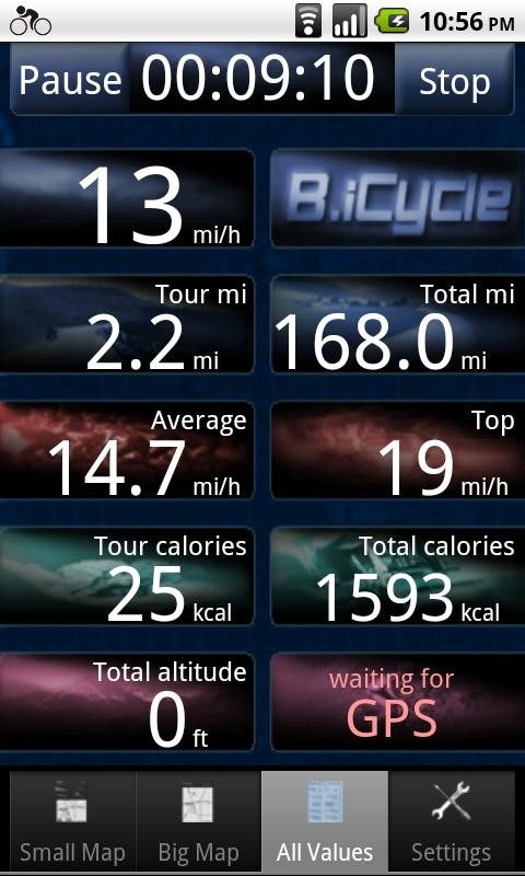 B.iCycle – GPS Fahrradcomputer - 4